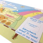 Baby Growth Chart for Welsh parents - Record those tender first steps